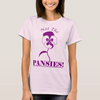 Pansies T-shirt (pink)