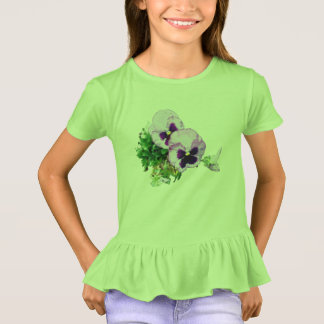 pansy 17 watercolor 728 T-Shirt