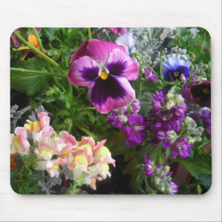 Pansy and friends mouse mat