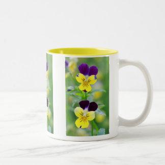 Pansy Blooms Mug
