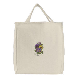 Pansy bouquet bags