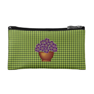 Pansy Bouquet Cosmetic Bag
