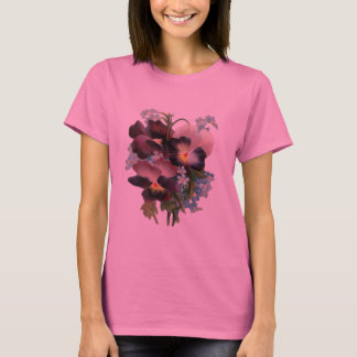 Pansy Bouquet T-Shirt