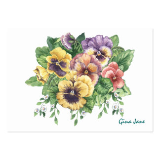 Pansy Business / Gift Enclosure SRF Pack Of Chubby Business Cards