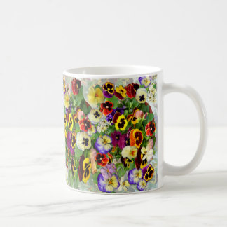 Pansy Caccade Coffee Mug