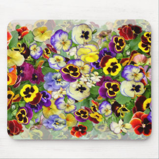 Pansy Cascade Mouse Mat