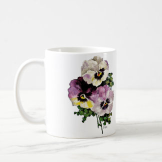 Pansy Coffee Mug