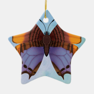 Pansy Daggerwing Butterfly Christmas Ornament