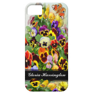 Pansy Display ~  iPhone 5 Barely There Case