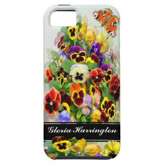 Pansy Display ~  iphone 5  Tough Case