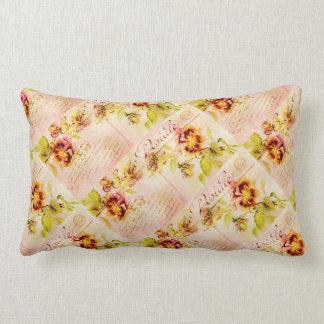 Pansy flower feminine girls pillow