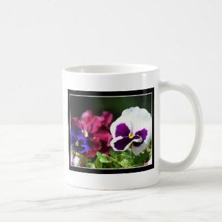 Pansy Flower mug