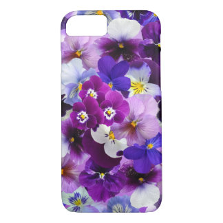 Pansy Flower Wallpaper Art iPhone 7 Case
