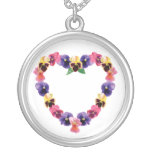 Pansy Heart Jewelry