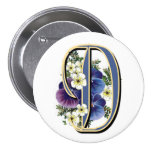 Pansy Initial  - D Buttons