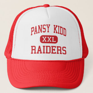 Pansy Kidd - Raiders - Middle - Poteau Oklahoma Trucker Hat
