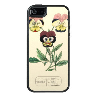 Pansy Pansies Flower Illustration OtterBox iPhone 5/5s/SE Case
