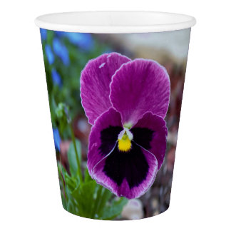 Pansy Paper Cup