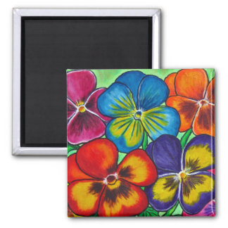 Pansy Parade Magnet