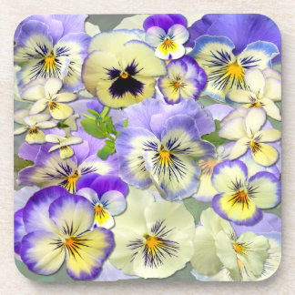 Pansy Pastel # 2~  Coasters