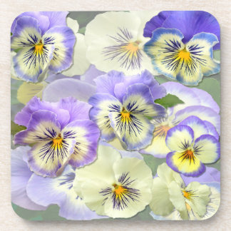 Pansy Pastel ~  Coasters