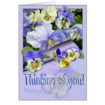 PANSY PASTEL ~ Thinking of you! ~ Card