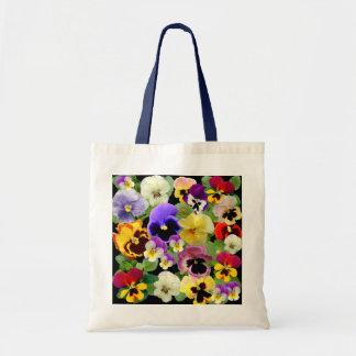 PANSY PATCHWORK  ~ Budget Tote