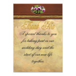 Pansy - Purple Pansies 13 Cm X 18 Cm Invitation Card