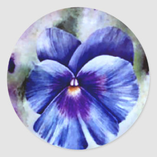 Pansy Stickers