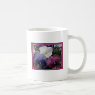 Pansy Trio Coffee Mug
