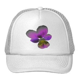 Pansy Wild Dark Purple Hat