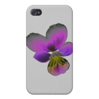 Pansy Wild Dark Purple  iPhone 4/4S Cover