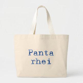 """Panta rhei """"Everything flows"""" Tote Bag"""