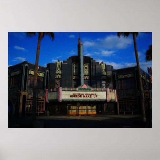 Pantages Theater Universal  Studios Print