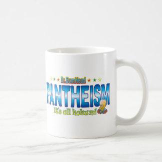 Pantheism Dr. B Head Basic White Mug
