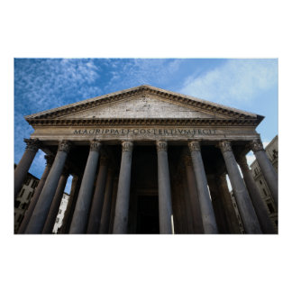 pantheon in rome posters