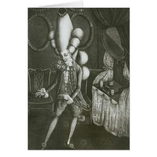Pantheon Macaroni, 1773 Greeting Card