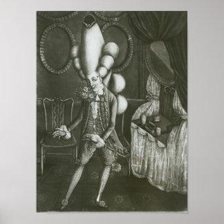 Pantheon Macaroni, 1773 Poster