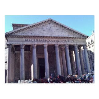 Pantheon, Rome, Italy Postcard