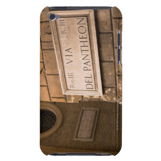 Pantheon sign, Rome, Italy Barely There iPod Case