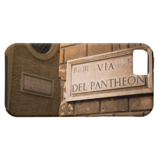 Pantheon sign, Rome, Italy iPhone 5 Cover