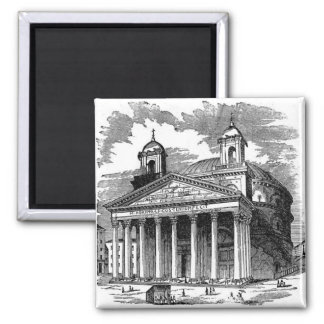 Pantheon Square Magnet