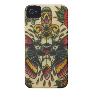 panther and dagger Case-Mate iPhone 4 case