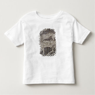 Panther attacking a bull toddler T-Shirt