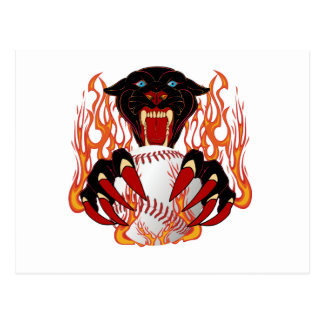 Panther-Baseball-1White-T-2 Postcard