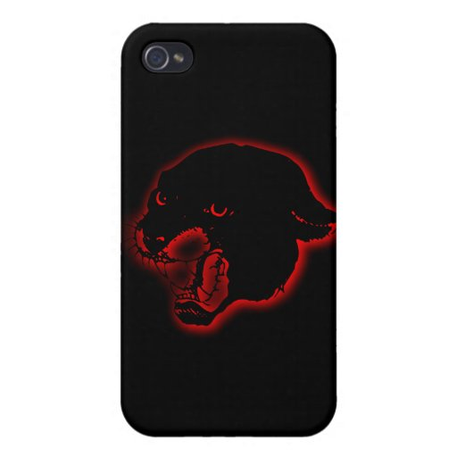 Panther black panther wild cat wild animal kingdom iPhone 4/4S covers