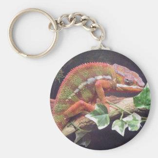 Panther Chameleon Key Ring