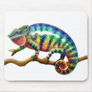 Panther Chameleon Lizard Mousepad