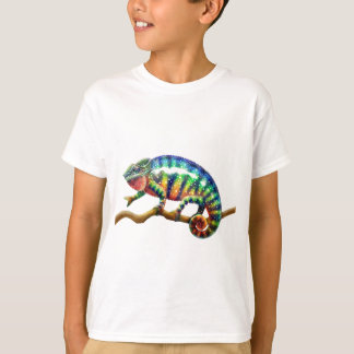 Panther Chameleon Lizard T Shirt