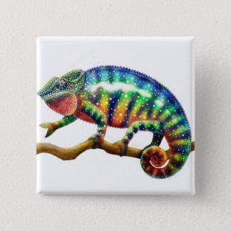 Panther Chameleon Pin